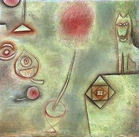 Paul Klee: Stillleben mit Tierstatuette