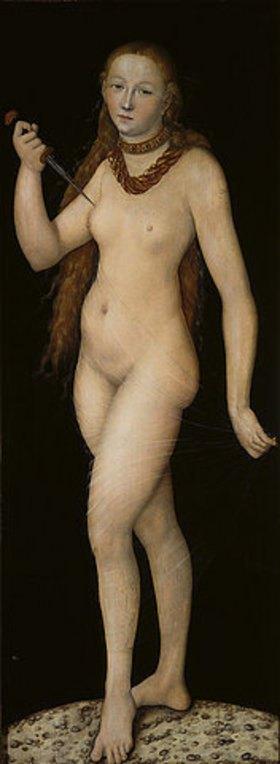 Lucas Cranach d.Ä.: Selbstmord der Lucretia