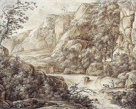Franz Kobell: Gebirgslandschaft