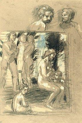 Hans von Marées: Lob der Bescheidenheit - recto