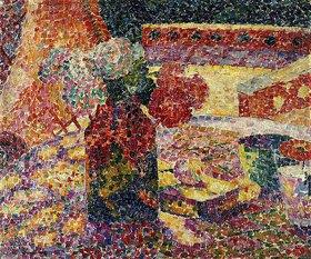 Robert Delaunay: Stillleben mit Blumenvase