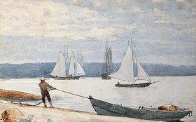 Winslow Homer: Beim Einholen des Bootes (Pulling the Dory)