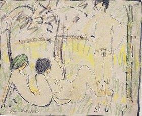 Otto Mueller: Drei Mädchen