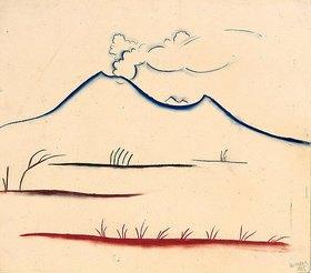 Walter Ophey: Vulkan (Bergsilhouette)