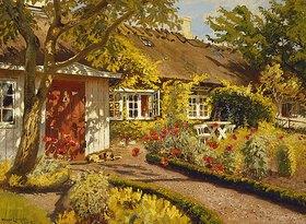 Oilaf Viggo Peter Langer: Das Gartenhaus