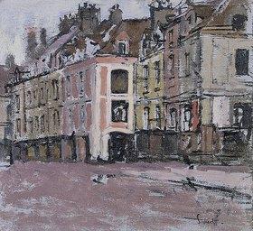 Walter Richard Sickert: Die alten Arkaden in Dieppe (Les Vieux Arcades, Dieppe)