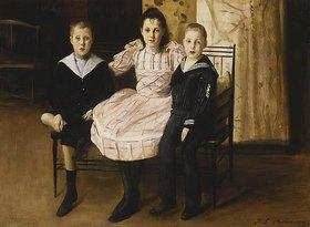 Jacques-Emile Blanche: Henry Bernstein mit seinen Geschwistern