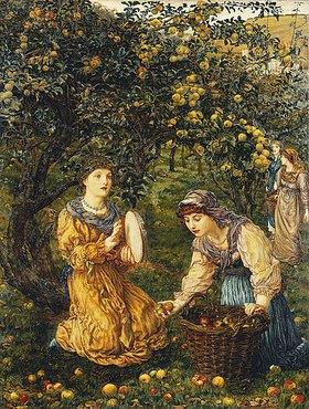 Thomas Matthews Rooke: Die Apfelernte