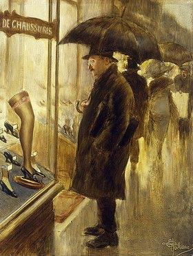 Albert Guillaume: Das Schaufenster