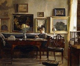Gustav-Vilhelm Blom: Mußestunde am Nachmittag