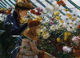 Charles Courtney Curran: Chrysanthemen