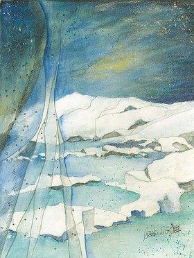 Annette Bartusch-Goger: Island, Jökulsárlon: Gletschersee