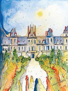 Annette Bartusch-Goger: Frankreich, Fontainebleau: Schloss