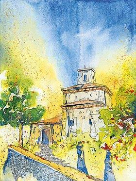 Annette Bartusch-Goger: Spanien, Sierra de la Demanda: Kloster San Millán de Suso