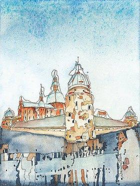 Annette Bartusch-Goger: Schweden, Östergötland: Wasaburg Schloss Vadstena
