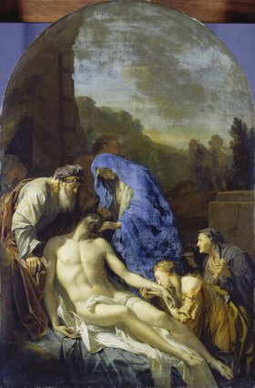 Adriaen van der Werff: Grablegung Christi