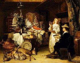 Adrien Joseph Verhoeven-Ball: Im Atelier