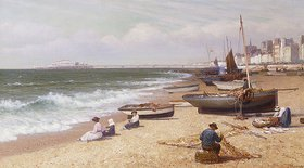 Alexander Young: Am Strand in Brighton