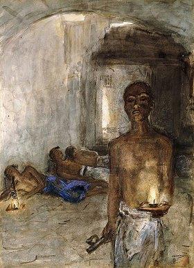 Marius Alexander Jacques Bauer: Opiumraucher, Saigon