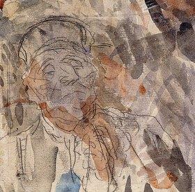 Honoré Daumier: Studie eines Advoaten (Etude d'un Avocat)