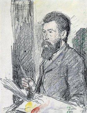 Maximilien Luce: Bildnis von Georges Seurat (1859-1891)
