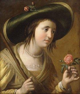 Gerrit van Honthorst: Elisabeth II von der Pfalz als Schäferin