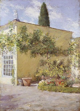William Merrit Chase: Orangerie in Florenz