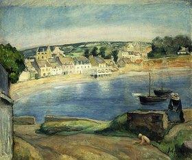 Henri Lebasque: Bretonische Landschaft bei Miget (Paysage de Bretagne à Miget)