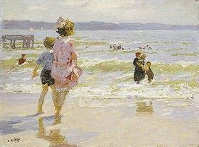 Edward Henry Potthast: Sommerferien am Meer