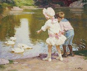 Edward Henry Potthast: Kinder im Park
