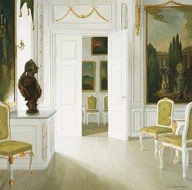 Christian Tilemann-Petersen: Empfangszimmer in Schloss Fredensborg