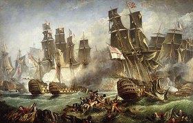 Englisch: Die Schlacht von Trafalgar