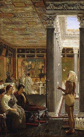 Sir Lawrence Alma-Tadema: Der Jongleur