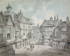 Joseph Mallord William Turner: Market Street, Lichfield