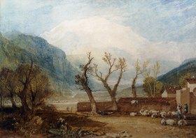 Joseph Mallord William Turner: Mont Blanc, von Sallanches aus gesehen