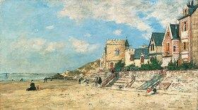 Eugène Boudin: Tour Malakoff und Ufer in Trouville