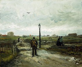 Vincent van Gogh: Am Stadtrand von Paris (Aux Confins de Paris)