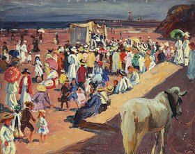 William Samuel Horton: Broadstairs Beach