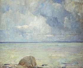 Soren Emil Carlsen: Blick auf den Sund