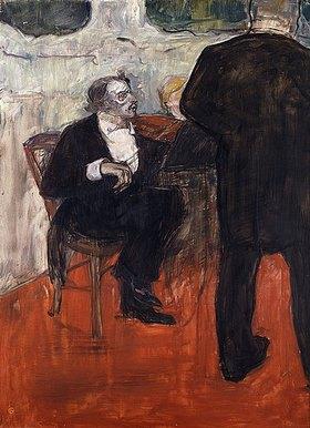 Henri de Toulouse-Lautrec: Der Violinist Dancla