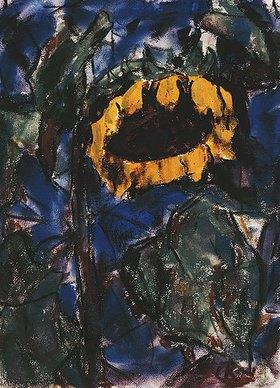 Christian Rohlfs: Sonnenblume