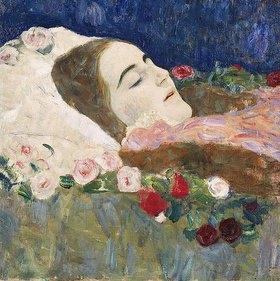 Gustav Klimt: Fräulein Ria Munk auf dem Totenbett