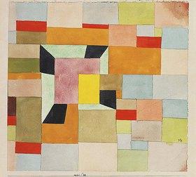 Paul Klee: Aufgeteilte Farbvierecke