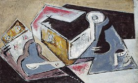 Maria Blanchard: Kubistische Komposition