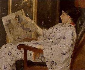 William Merrit Chase: Der japanische Holzschnitt. Wohl
