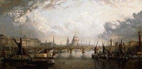 John MacVicar Anderson: Die Themse von der Hungerford Bridge aus