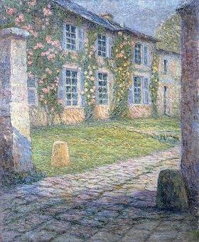 Henri Le Sidaner: La Maison Rose à Versailles