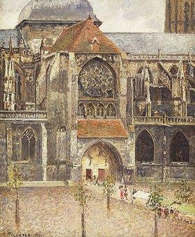 Camille Pissarro: Portal der Kirche Saint-Jaques in Dieppe