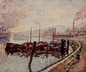 Jean-Baptiste Armand Guillaumin: Ruhende Flußkähne