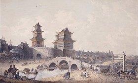 William Alexander: Pringze Men, das westliche Stadttor von Peking